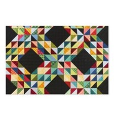 Quilt Patchwork Postcards (Package of 8)