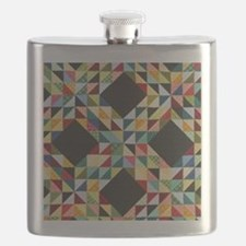 Quilt Patchwork Flask