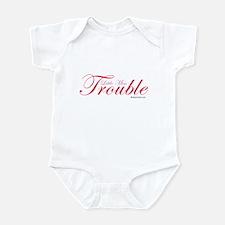 Little Miss Trouble Infant Bodysuit