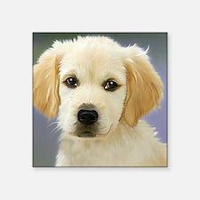 "Sweet Dog Square Sticker 3"" x 3"""