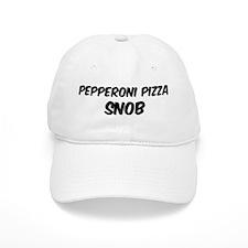 Pepperoni Pizza Baseball Cap