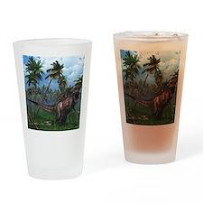 Tyrannosaurus 3 Drinking Glass
