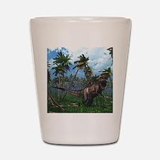 Tyrannosaurus 3 Shot Glass