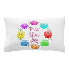 Peace Love Joy Pillow Case