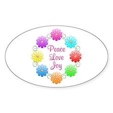 Peace Love Joy Decal