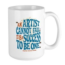An Artist Cannot Fail Mugs