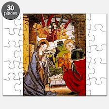 Birth of Christ - Pedro Berruguete - 15th Century