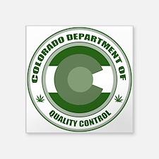 Quality Control Sticker