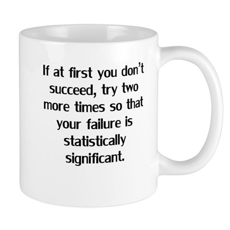 If At First You Don't Succeed Mugs