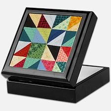 Quilt Patchwork Keepsake Box