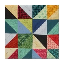 Quilt Patchwork Tile Coaster