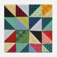 Quilt Patchwork Tile Coaster
