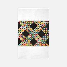 Quilt Patchwork 3'x5' Area Rug