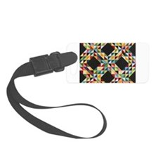 Quilt Patchwork Luggage Tag