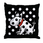 lubly bully original designs Throw Pillow