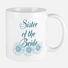 Blue Sister of the Bride Mugs