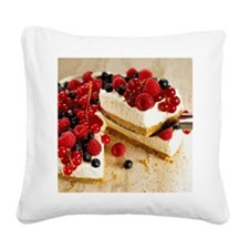 cheesecakes Square Canvas Pillow