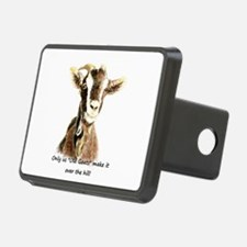Over the Hill Old Goat Humor Quote Hitch Cover