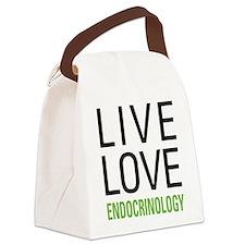 Live Love Endocrinology Canvas Lunch Bag