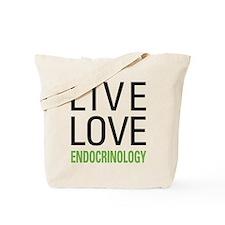 Live Love Endocrinology Tote Bag
