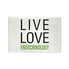 Live Love Endocrinology Rectangle Magnet (10 pack)