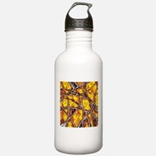abstract net Water Bottle