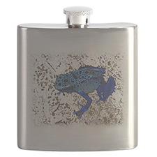 Blue Frog Flask