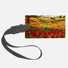 Color in the Vineyards Luggage Tag