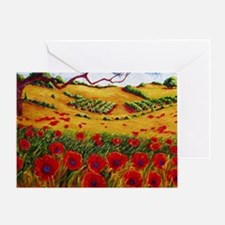 Color in the Vineyards Greeting Card