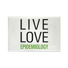 Live Love Epidemiology Rectangle Magnet