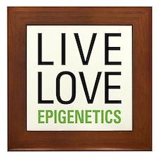 Live Love Epigenetics Framed Tile
