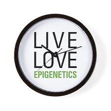 Live Love Epigenetics Wall Clock
