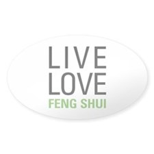 Live Love Feng Shui Decal
