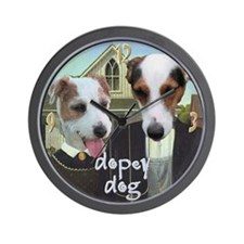 Jack Russell (Parson) American Woofic Wall Clock