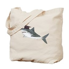 Graduation Shark Tote Bag