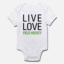Live Love Field Hockey Infant Bodysuit