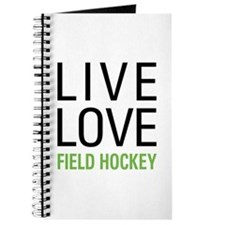 Live Love Field Hockey Journal