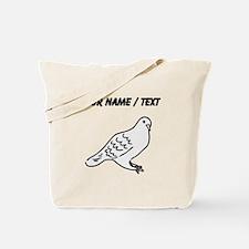 Custom Pigeon Tote Bag