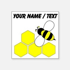 Custom Honeybee Sticker