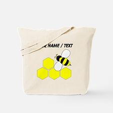 Custom Honeybee Tote Bag