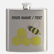 Custom Honeybee Flask