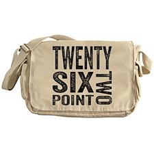 Twenty Six Point Two Marathon Messenger Bag