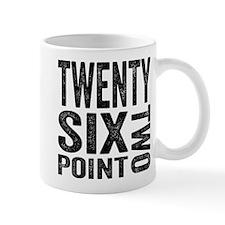 Twenty Six Point Two Marathon Mugs