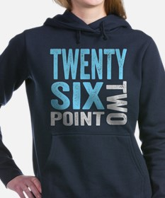Twenty Six Point Two Marathon Motivation Hooded Sw