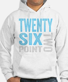 Twenty Six Point Two Marathon Motivation Hoodie