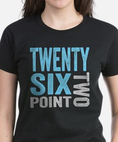 Twenty Six Point Two Marathon Motivation T-Shirt