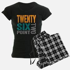 Twenty Six Point Two Marathon Motivation Pajamas