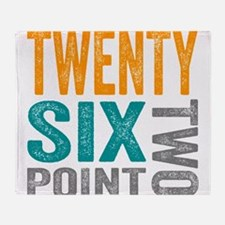 Twenty Six Point Two Marathon Motivation Throw Bla