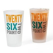Twenty Six Point Two Marathon Motivation Drinking