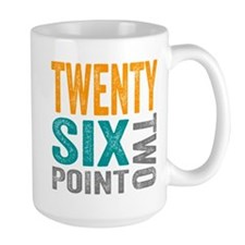 Twenty Six Point Two Marathon Motivation Mugs
